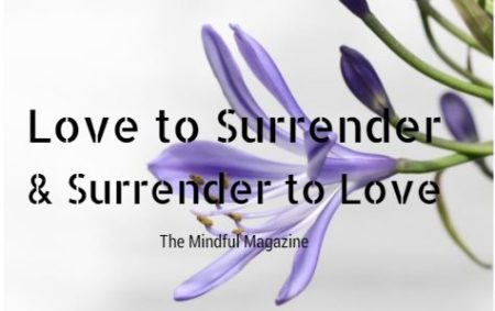 love to surrender and surrender to love
