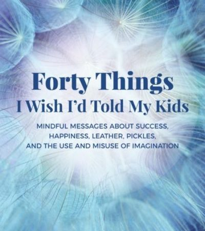 Interview with John Allcock - Forty things I wish I'd told my kids