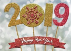 Happy New year's resolutions 2019