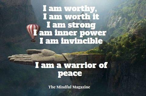 I am worthy the mindful magazine